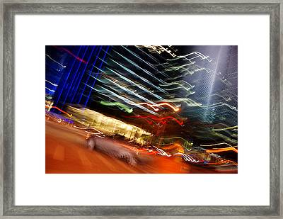 Framed Print featuring the photograph Turnover by Lorenzo Cassina