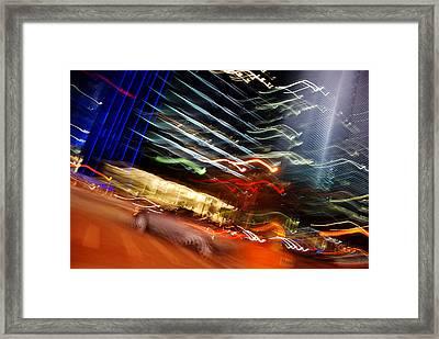 Turnover Framed Print