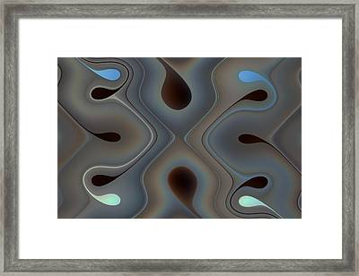 Turns And Twists Framed Print