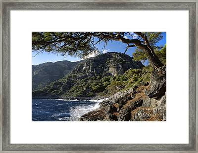 Turquoise Coast Turkey Framed Print by Craig Lovell