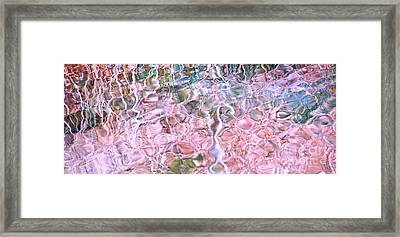 Turquoise Dreams A Framed Print