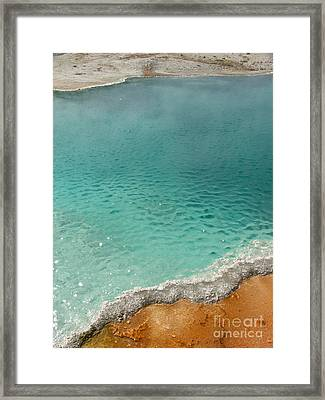 Turquoise Jewels Framed Print