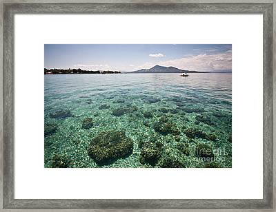 Turquoise Paradise Framed Print by Asiadreamphoto