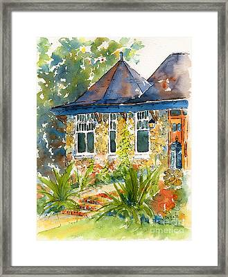 Turret House Framed Print