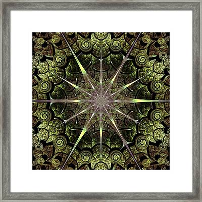 Turtle Gates Framed Print