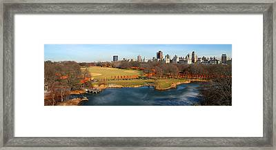 Framed Print featuring the photograph Turtle Pond by Yue Wang