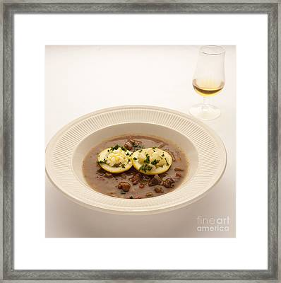 Turtle Soup Framed Print by New  Orleans Food
