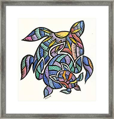 Turtles 2009 Framed Print