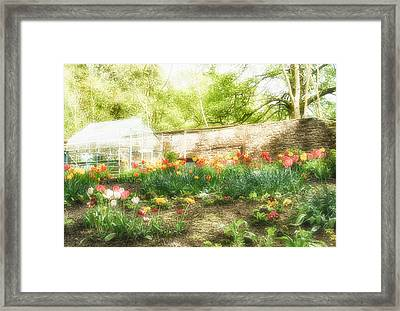 Turton Tower Garden Framed Print by Chris McPhee
