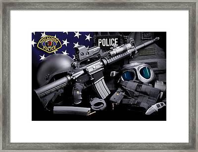 Tuscaloosa Police Framed Print by Gary Yost