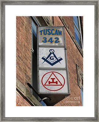 Tuscan 342 Framed Print