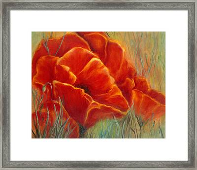 Tuscan Breeze Framed Print
