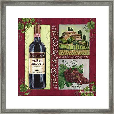 Tuscan Collage 1 Framed Print by Debbie DeWitt