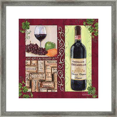Tuscan Collage 2 Framed Print by Debbie DeWitt