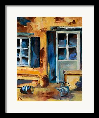 Typical Paintings Framed Prints