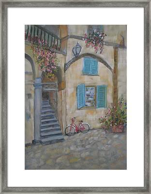 Tuscan Delight Framed Print by Mohamed Hirji