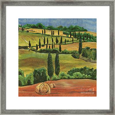 Tuscan Dream 1 Framed Print by Debbie DeWitt