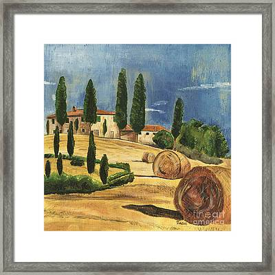 Tuscan Dream 2 Framed Print by Debbie DeWitt