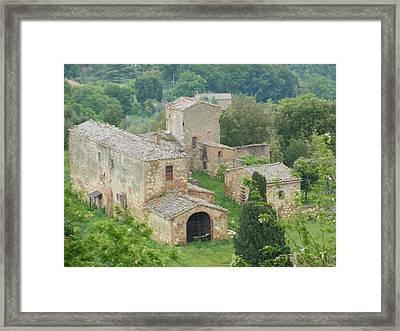 Tuscan Farmhouse Framed Print
