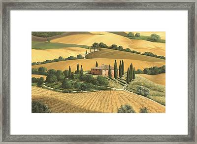 Tuscan Gold - Sold Framed Print