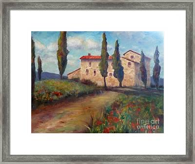 Tuscan Home Framed Print