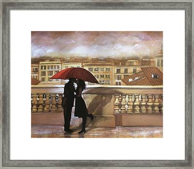 Tuscan Love Framed Print