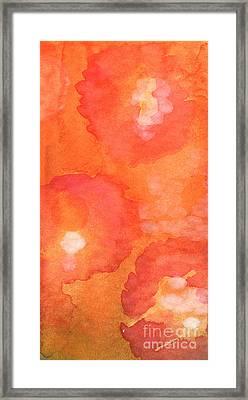 Tuscan Roses Framed Print