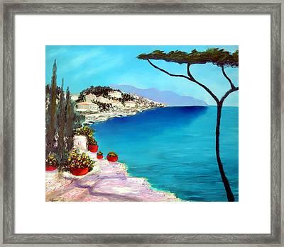 Tuscan Sea Framed Print