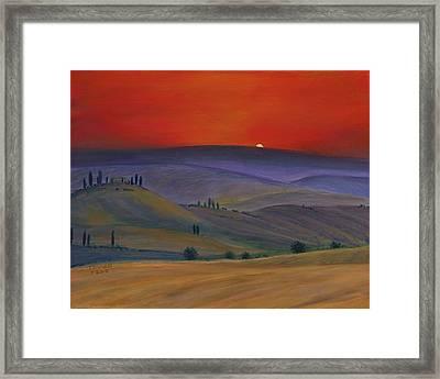Tuscan Twilight 2 Framed Print