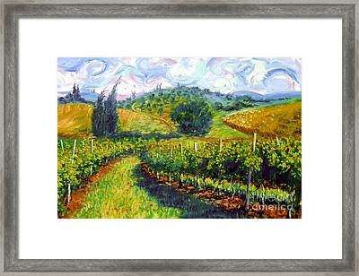 Tuscan Wind Framed Print