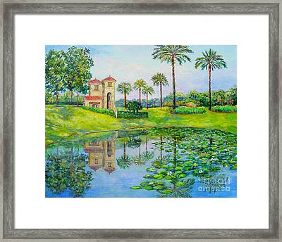 Tuscana Reflection Framed Print