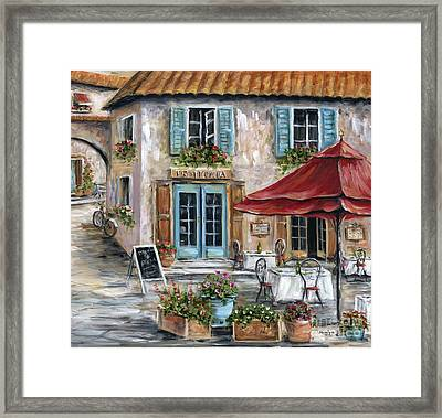 Tuscan Trattoria Framed Print
