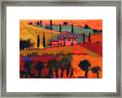 Tuscany Framed Print by Paul Powis