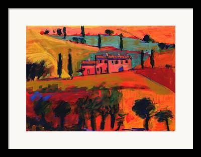 Italian Landscapes Photographs Framed Prints