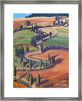 Tuscany Framed Print by Caroline Street