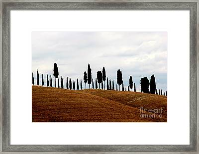Tuscany Hill Framed Print