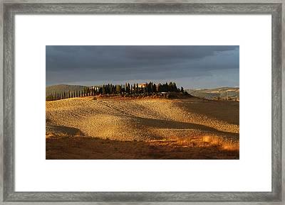 Tuscany Hills Framed Print by Alex Sukonkin