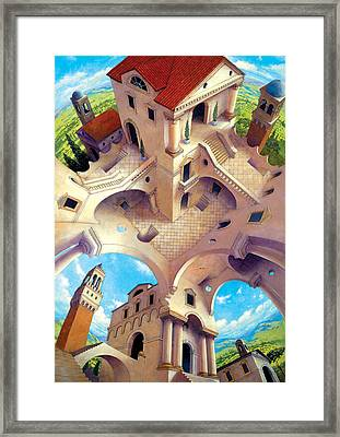 Tuscany I Framed Print by Irvine Peacock