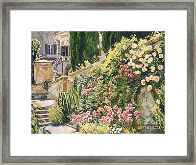 Tuscany Impressions Framed Print by David Lloyd Glover