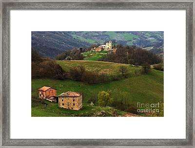 Tuscany Landscape 3 Framed Print by Bob Christopher
