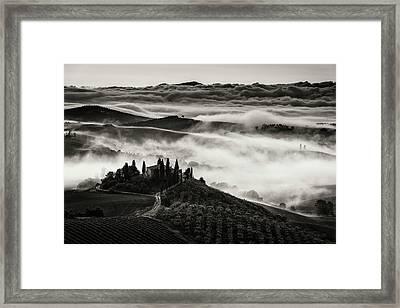Tuscany Framed Print by Nina Pauli
