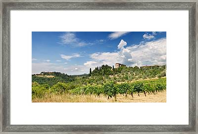 Tuscany Framed Print by Ulrich Schade