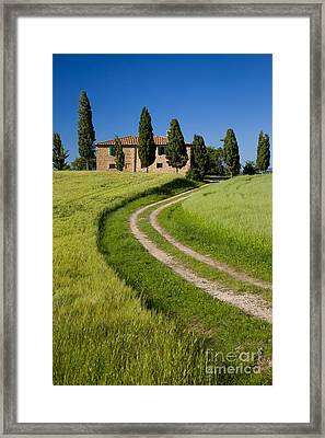 Tuscany Villa Framed Print