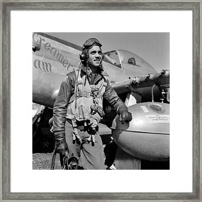 Tuskegee Airman Framed Print