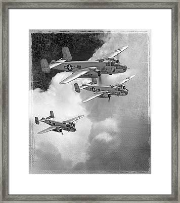 Tuskegee Airman...616th Bombardment Group Framed Print by Larry McManus