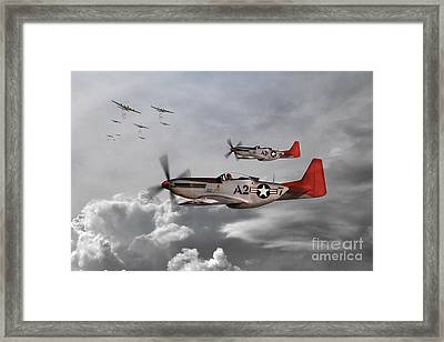 Tuskegee Airmen Framed Print by J Biggadike