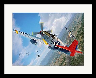 Tuskegee Airmen Framed Prints