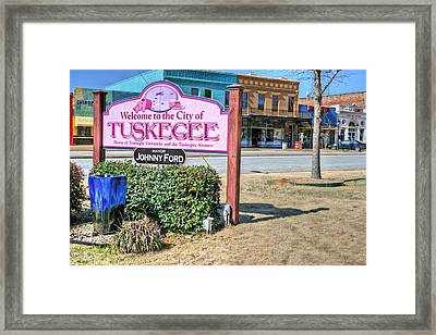 Tuskegee Alabama Framed Print by JC Findley