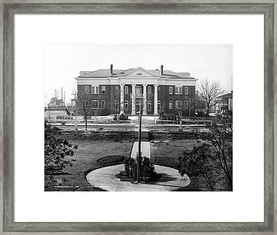 Tuskegee Institute, C1906 Framed Print by Granger