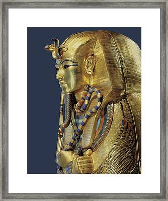 Tutankhamuns Second Sarcophagus. 1333 Framed Print by Everett
